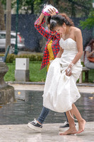 Wet weather weddings